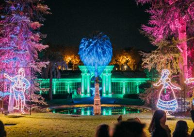 Las Luces del Real Jardín Botánico - Plaza de la Alegria