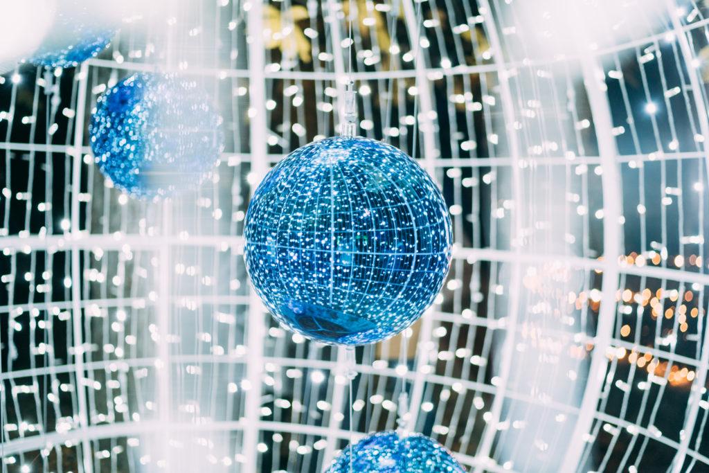 Las Luces des Real Jardín Botánico - Esfera de Diamante